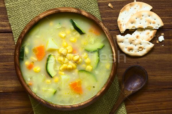 Corn Chowder Stock photo © ildi