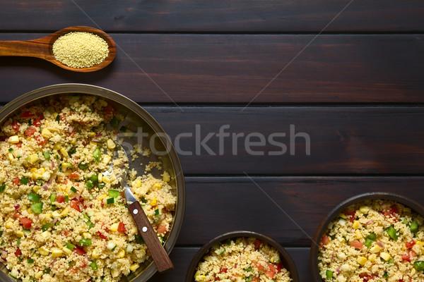 Vegetable and Couscous Salad Stock photo © ildi