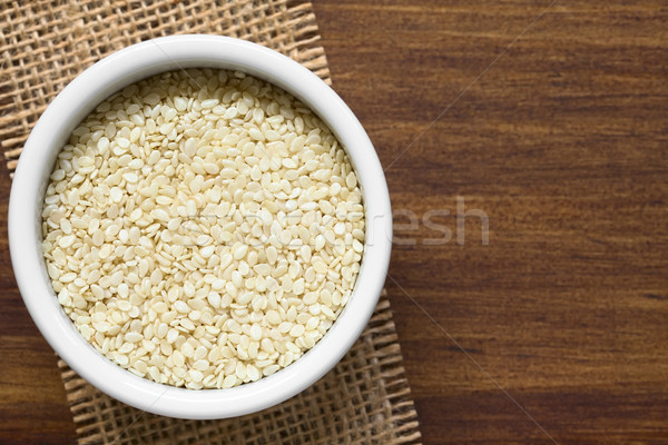 White Sesame Seeds Stock photo © ildi