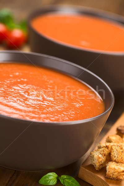 Tomato Soup Stock photo © ildi