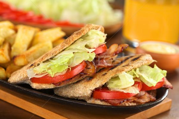 BLT Pita Sandwich Stock photo © ildi