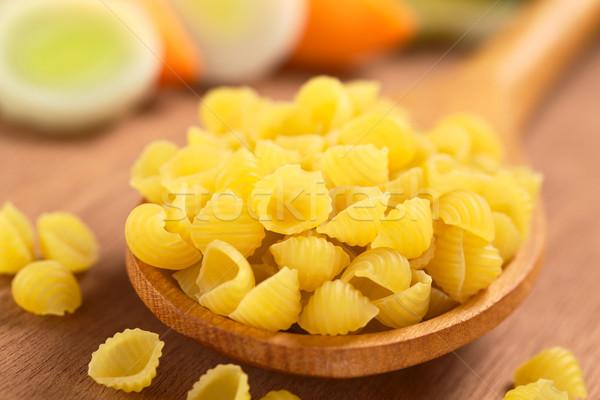 сырой оболочки пасты овощей растительное Сток-фото © ildi