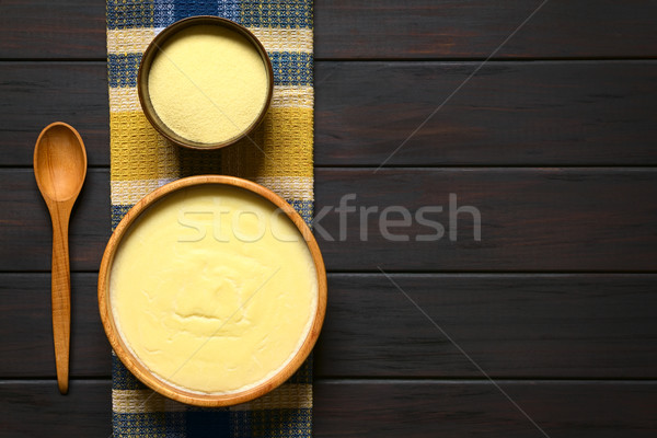 Semolina Pudding Stock photo © ildi