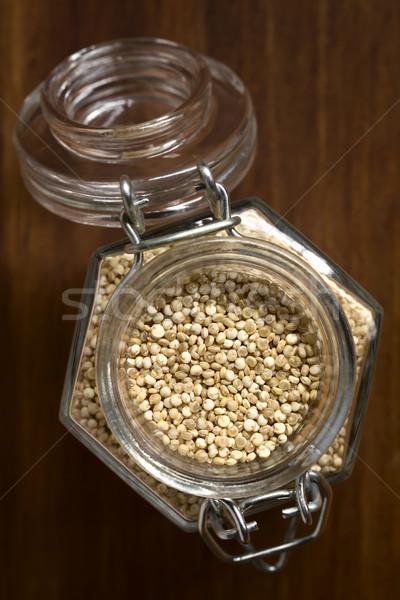 Raw Quinoa Grains Stock photo © ildi