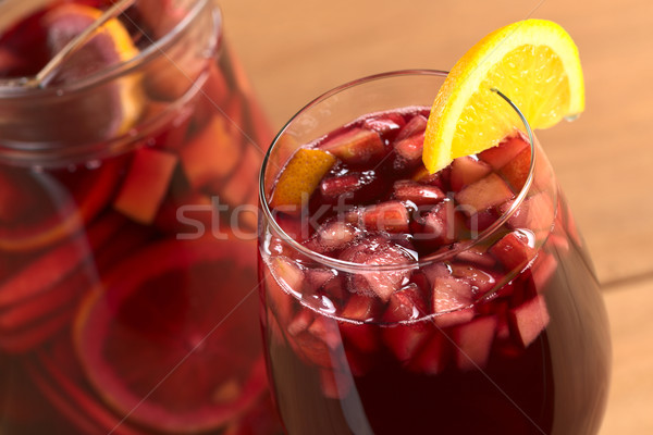Stock photo: Refreshing Sangria