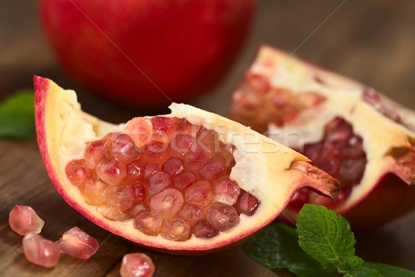 Pomegranate  Stock photo © ildi