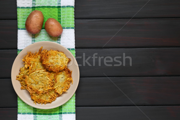 Potato Pancake or Fritter Stock photo © ildi