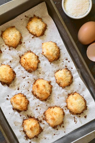 кокосового домашний Cookies Сток-фото © ildi