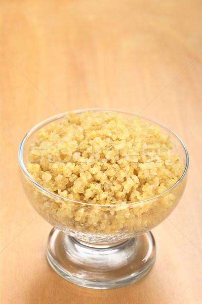 Cooked White Quinoa Stock photo © ildi