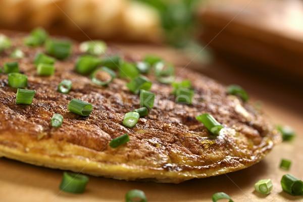 Spanish Tortilla Omelette Stock photo © ildi