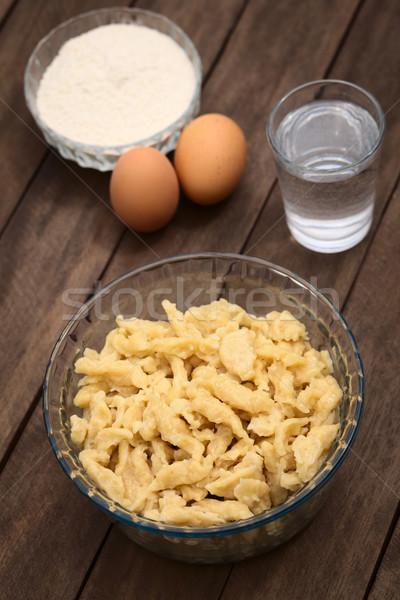 Hungarian Nokedli or Galuska Stock photo © ildi