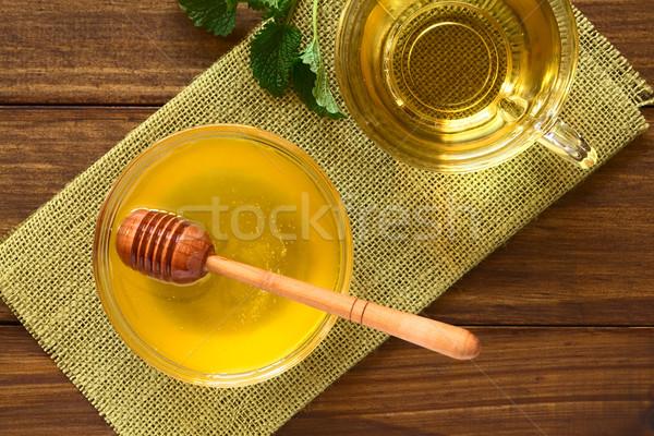 Honey and Herbal Tea Stock photo © ildi