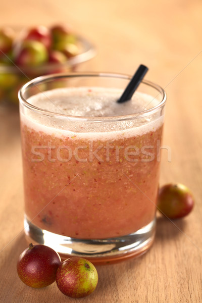 Jus sur Berry fruits augmenté Amazon Photo stock © ildi