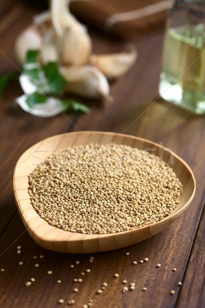 Raw White Quinoa Seeds Stock photo © ildi