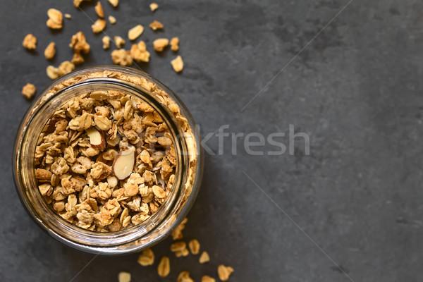 Crunchy Granola Stock photo © ildi