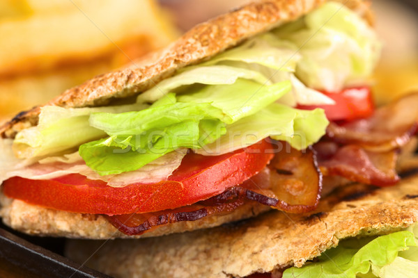 BLT Pita Sandwich Stock photo © ildi