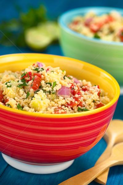 Сток-фото: свежие · домашний · арабский · Салат · вегетарианский