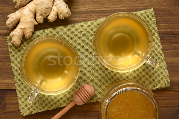 Ginger Tea Stock photo © ildi