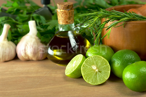 Limes and Other Seasonings Stock photo © ildi