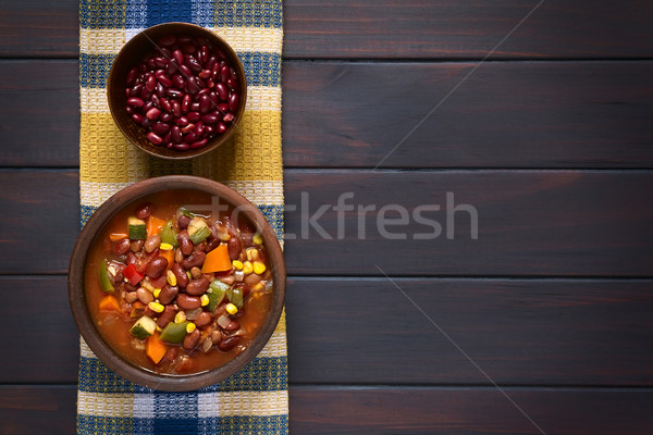 Vegetarian Chili Stock photo © ildi