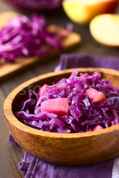 Braised Red Cabbage Stock photo © ildi