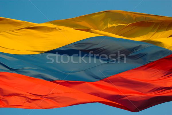 Colombian Flag Stock photo © ildi