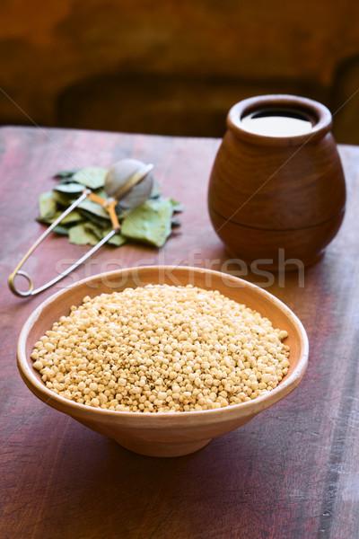 Popped Quinoa Cereal Stock photo © ildi