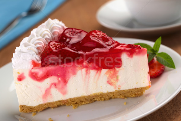 Strawberry Cheesecake Stock photo © ildi