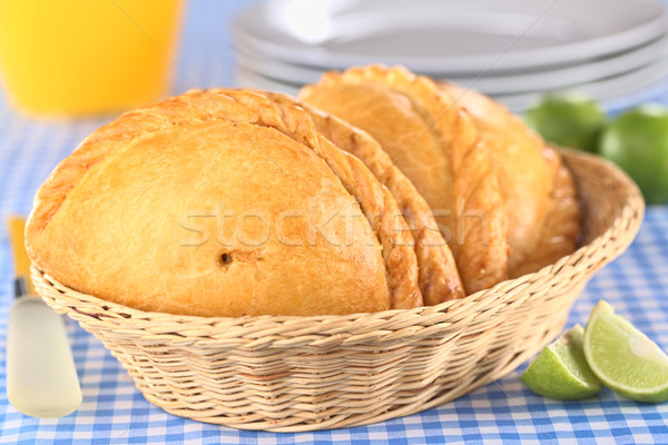 Peruvian Empanadas Stock photo © ildi