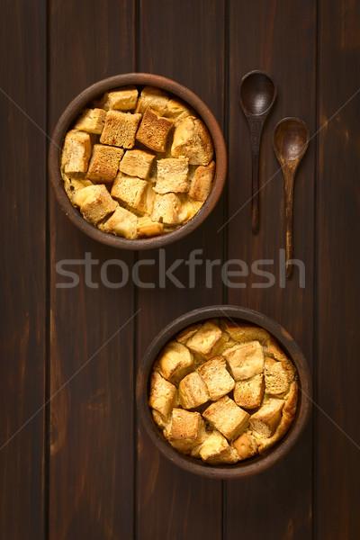 Bread Pudding Stock photo © ildi
