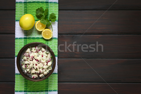 Chilean Ceviche Stock photo © ildi