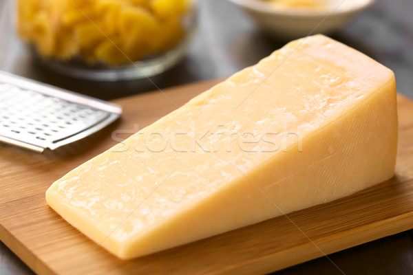 Parmesan-like Hard Cheese Stock photo © ildi