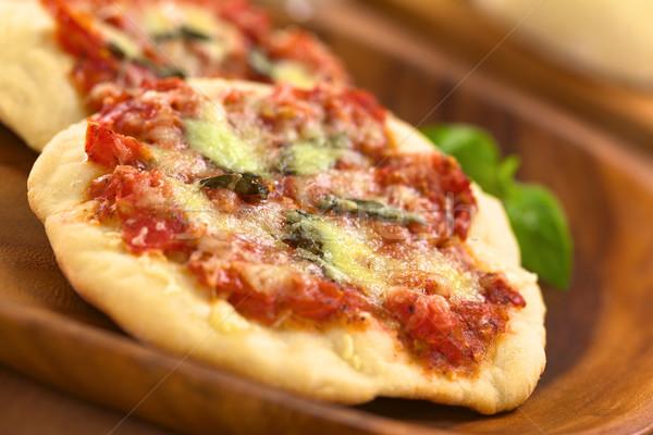 Pizza Margherita Stock photo © ildi