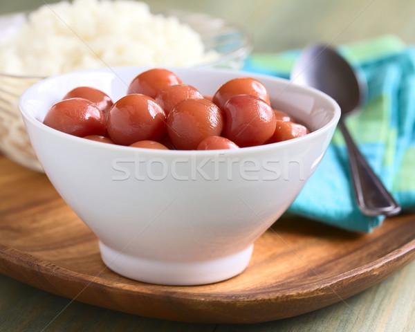 Cherry Compote Stock photo © ildi