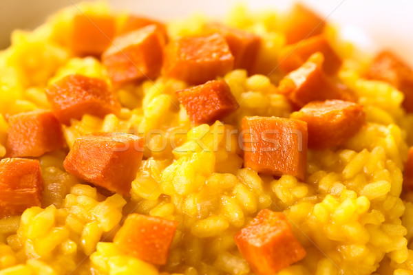 Pumpkin Risotto Stock photo © ildi