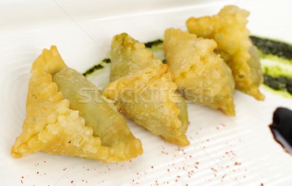 Appetizer: Empanada Filled with Meat  Stock photo © ildi