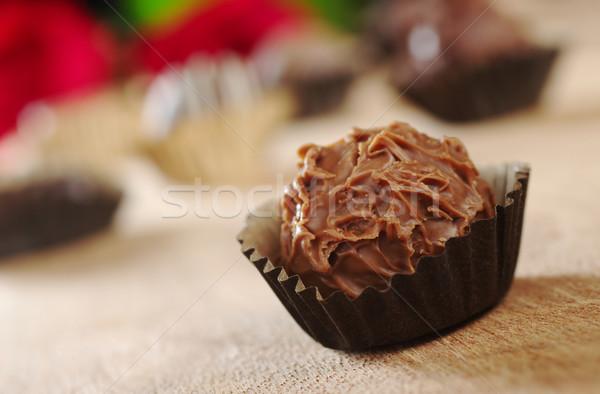 Chocolate Truffle Stock photo © ildi