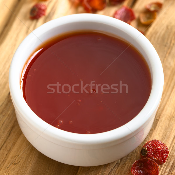 Rose Hip Jam in Bowl Stock photo © ildi