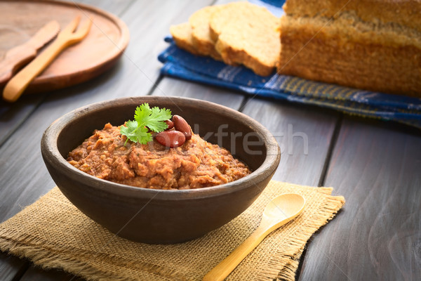 Red Kidney Bean Spread Stock photo © ildi