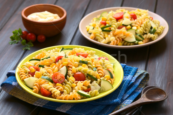 Vegetarian Pasta Salad Stock photo © ildi