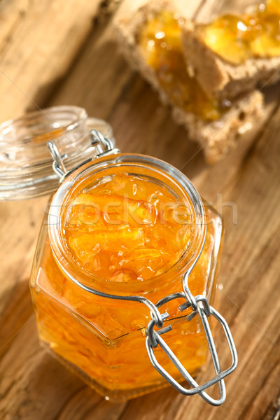 Orange Jam in Jar Stock photo © ildi