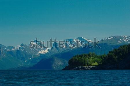 Stock photo: Norwegian Fjord Landscape
