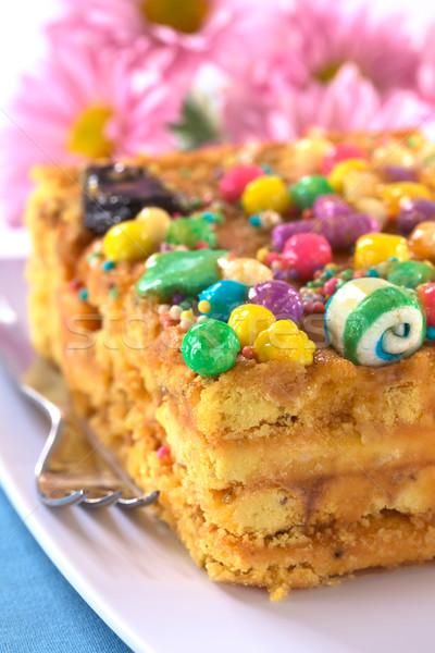 Peruvian Cake Called Turron Stock photo © ildi