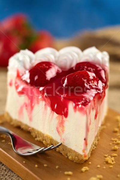 Strawberry Cheesecake Stock photo © ildi