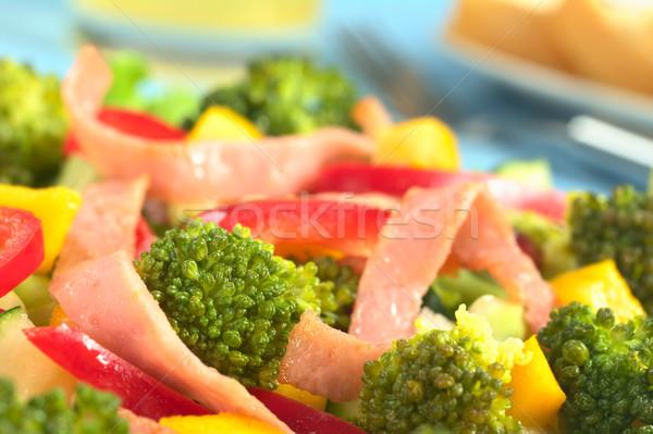 Fresh Broccoli Salad Stock photo © ildi