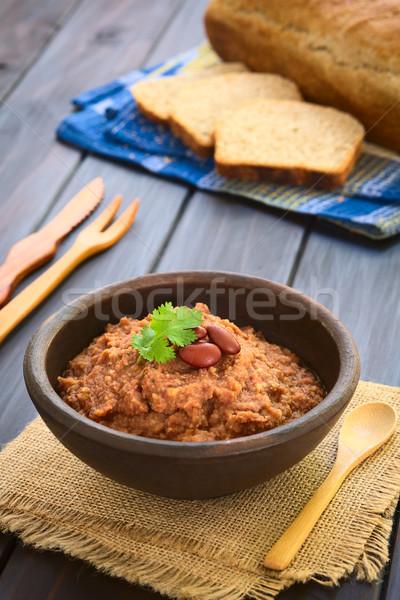 Red Kidney Bean Spread Stock photo © ildi
