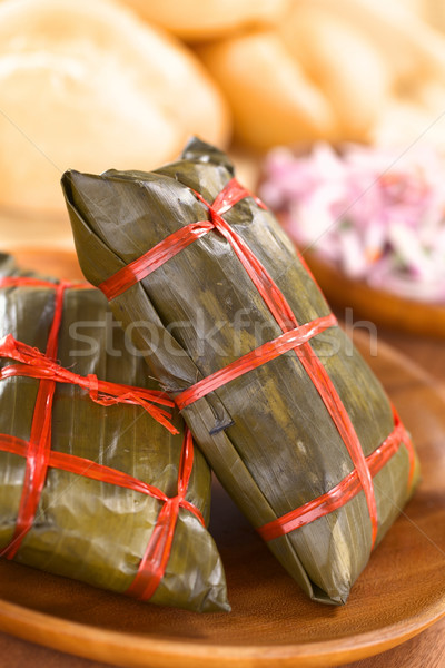 Peruvian Tamales Stock photo © ildi