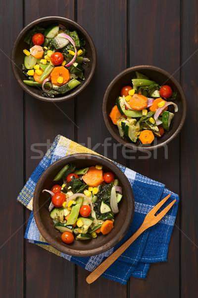 Baked Vegetables Stock photo © ildi