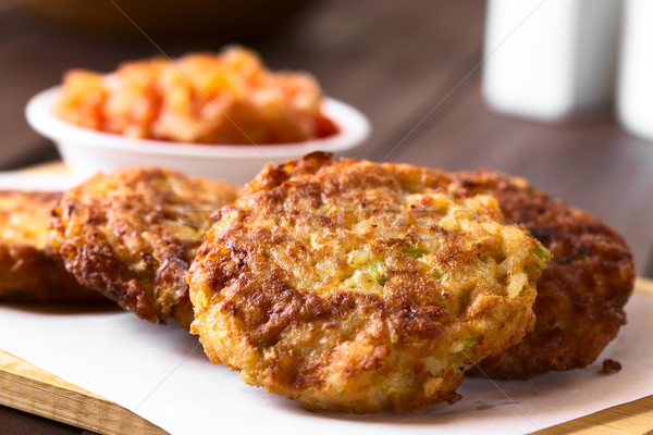 Stock photo: Rice Patties or Fritters