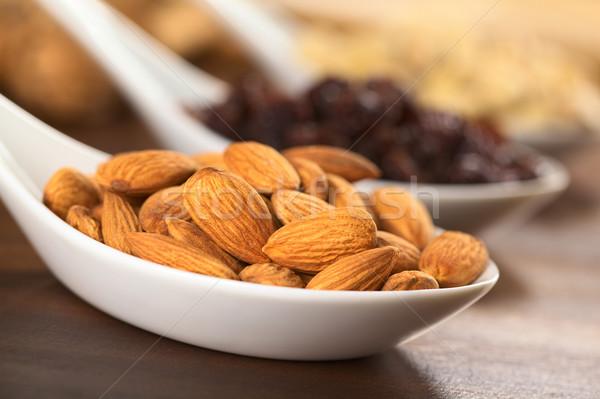 Almonds Stock photo © ildi
